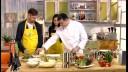 Ужин с первого взгляда (2 сезон) | Салат с кальмарами. Каре ягненка с мини овощами. Клубника со сливками
