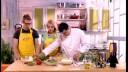 Ужин с первого взгляда (2 сезон) | Суп-крем из спаржи. Шашлык из цыпленка по-тайски. Профитроли с шоколадным кремом