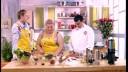 Ужин с первого взгляда (2 сезон) | Салат с морепродуктами. Гречневая лапша с тунцом в ореховом соусе. Шу в карамели