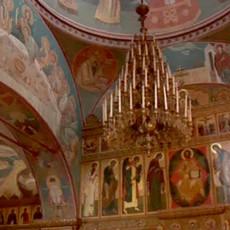 Монастырские стены: Сияние Оптиной