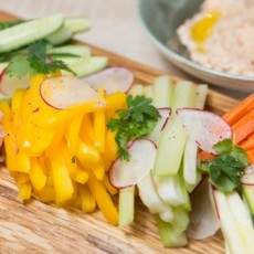 Крудите из свежих овощей