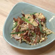 Немецкий салат с беконом