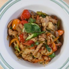 Рис в азиатском стиле