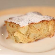 Грушевый пирог с ванилью