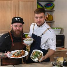 Рецепты от Романа Редмана и Ильи Бурнасова из программы «Обед в 4 руки»