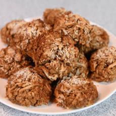 Овсяное печенье с курагой и кокосом