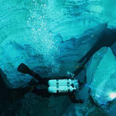 Подводные просторы Ординской пещеры