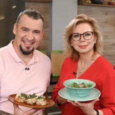 Рецепты от Григория Мосина и Ники Ганич из программы «Вкус праздника»