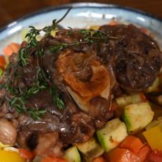 Стейк Оссобуко с овощами