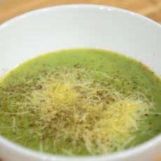 Овощной суп-пюре с пармезаном
