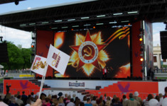 Телеканал «Ля-минор ТВ» поздравил всех с Днем Победы!
