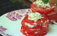 Салат из помидоров и сюзьмы