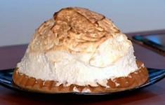 """Торт """"Аляска"""" с мороженым"""