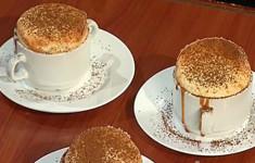 Суфле из белого шоколада