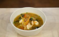 Мисо-суп с креветками