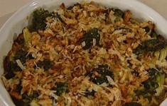 Печеные брокколи