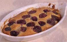 Теплые миндальные кексы с виноградом