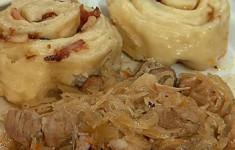 Свинина с квашеной капустой по-швабски