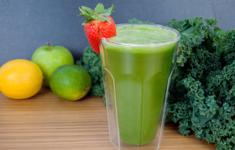 Зелёный сок