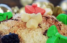 Тайское песочное печенье в виде цветов