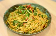 Салат из кабачков и тыквы