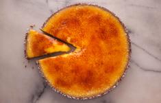 Карамелизированный лимонный тарт