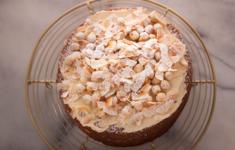 Кофейный торт с фундуком
