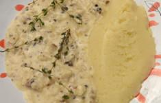 Скоблянка рыбная с картофельным пюре