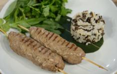 Люля-кебаб из телятины и ягненка
