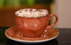 Какао с фундуком