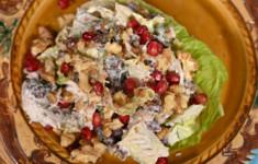 Салат из красной фасоли с курицей