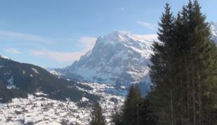 Альпы – снежные ландшафты