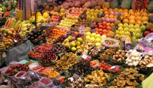 Продуктовые рынки: в сердце города