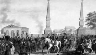Сражения с Наполеоном: Наполеон в Москве
