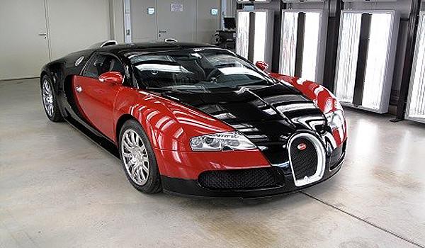 Мегазаводы. Bugatti