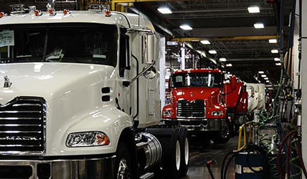 Мегазаводы. Mack Truck
