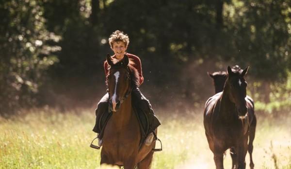 Угоняя лошадей