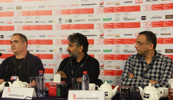 На ММКФ состоялась пресс-конференция по фильму «Бахубали. Завершение»
